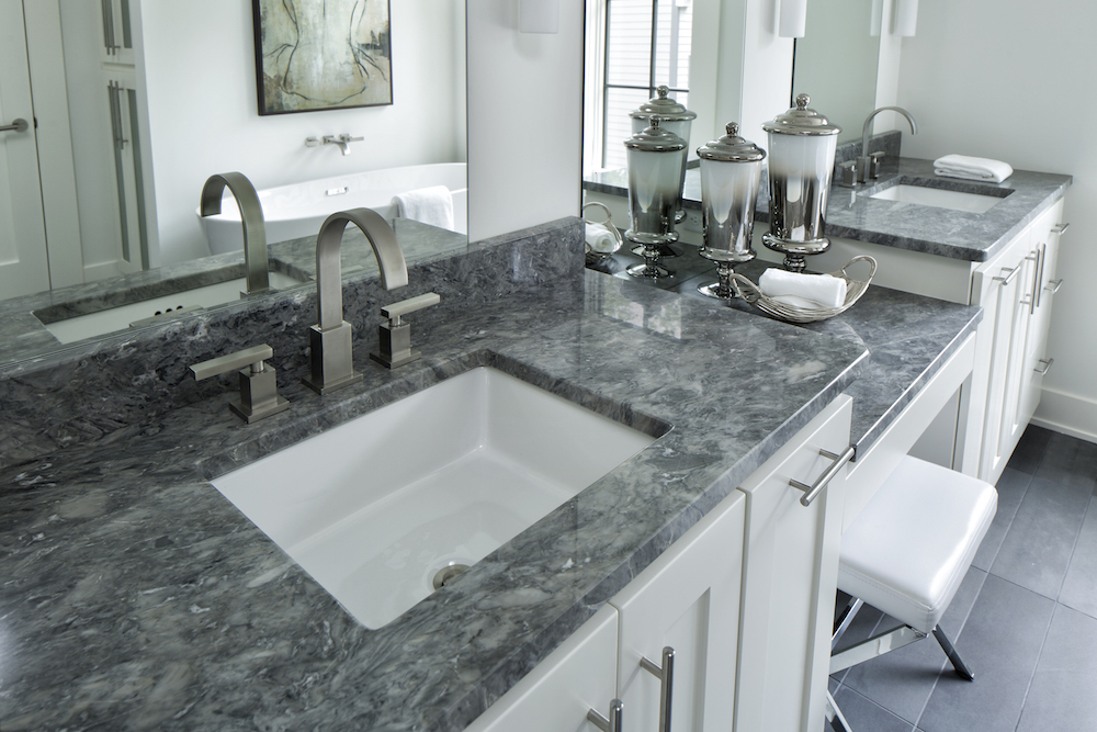 Charmant Bathroom Granite Countertop By Cu0026D Granite Minneapolis MN