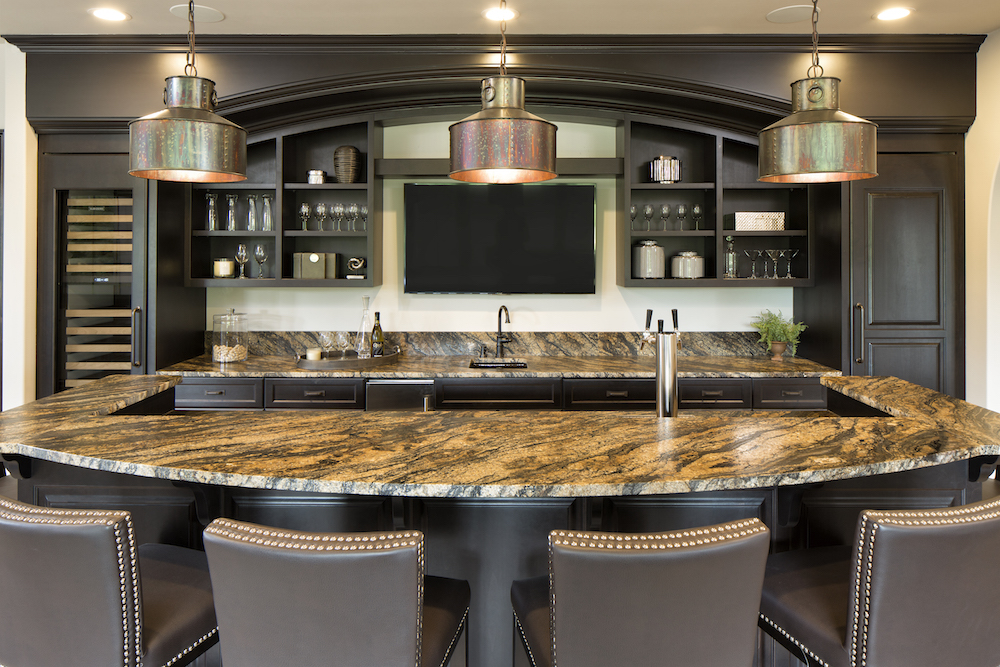 Exceptional Granite Countertops In Kitchen By Cu0026D Granite Minneapolis MN