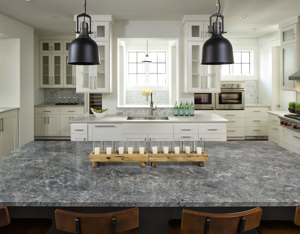quartz granite countertops inc vs marble kitchen concrete
