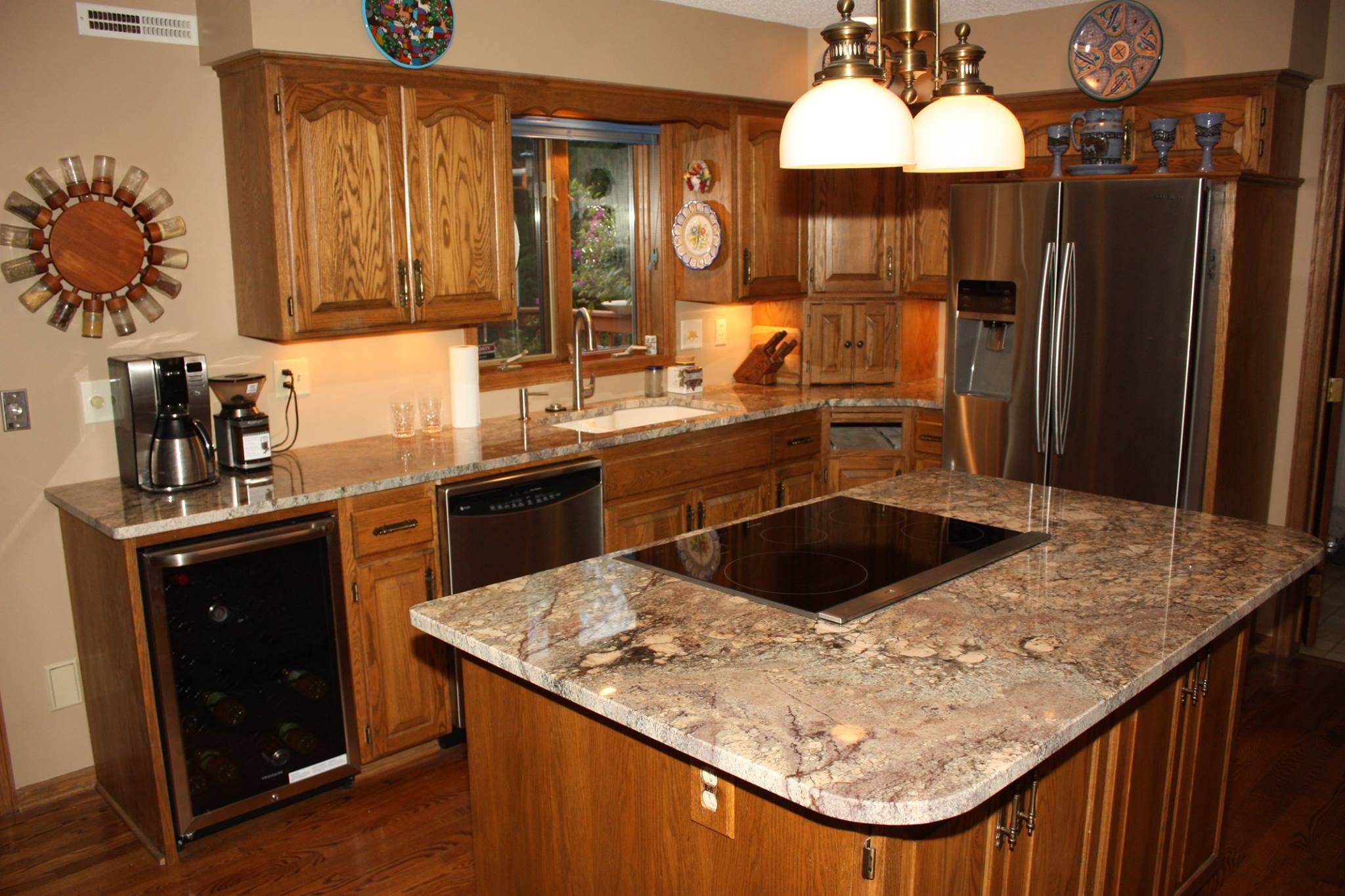 New Countertops In Kitchen Remodel C Amp D Granite Countertops