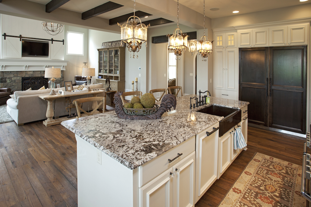 Granite Countertops in Kitchens | Granite Backsplash & Sinks ...