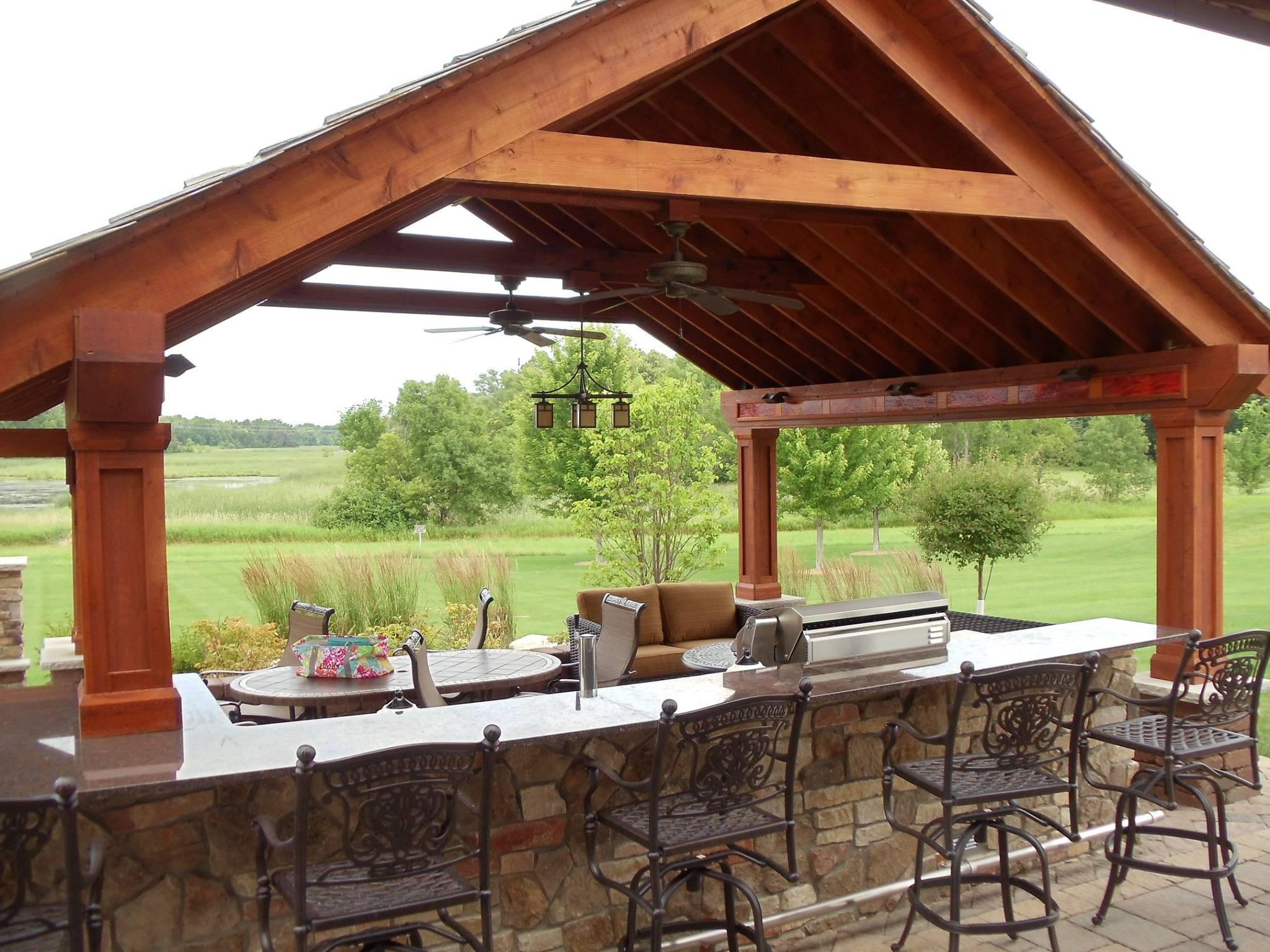 Outdoor Kitchen Stone Countertops
