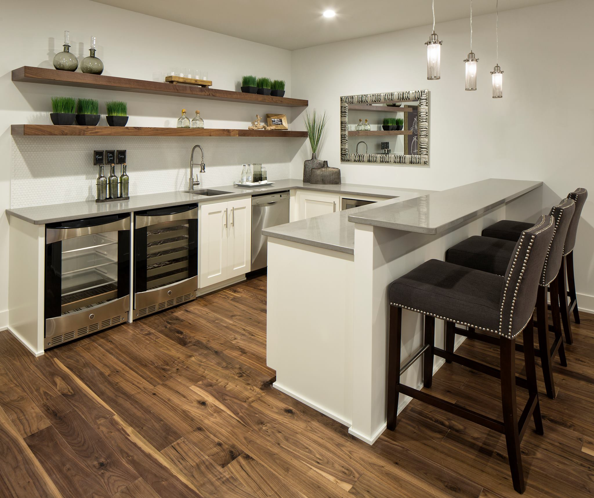 Pebble Ceasarstone Wet Bar Countertops C Amp D Granite