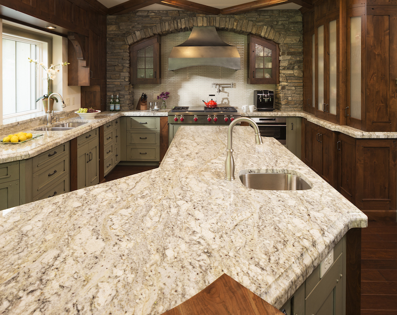 Rainbow Granite Kitchen Counters in St Cloud MN