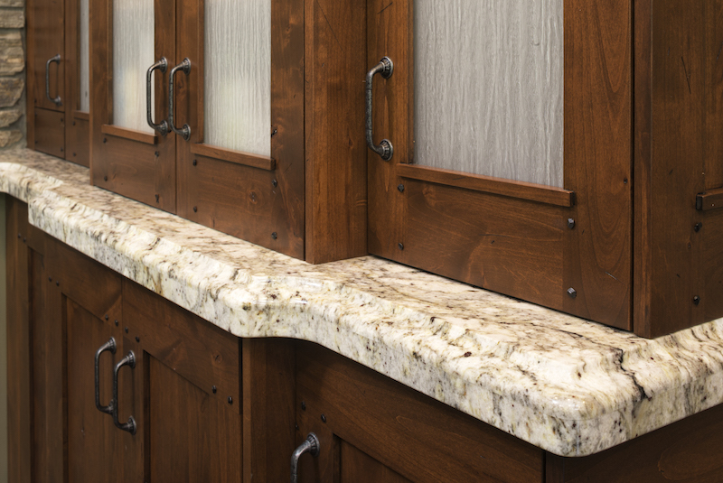 African Rainbow Granite Countertop Kitchen Remodel St