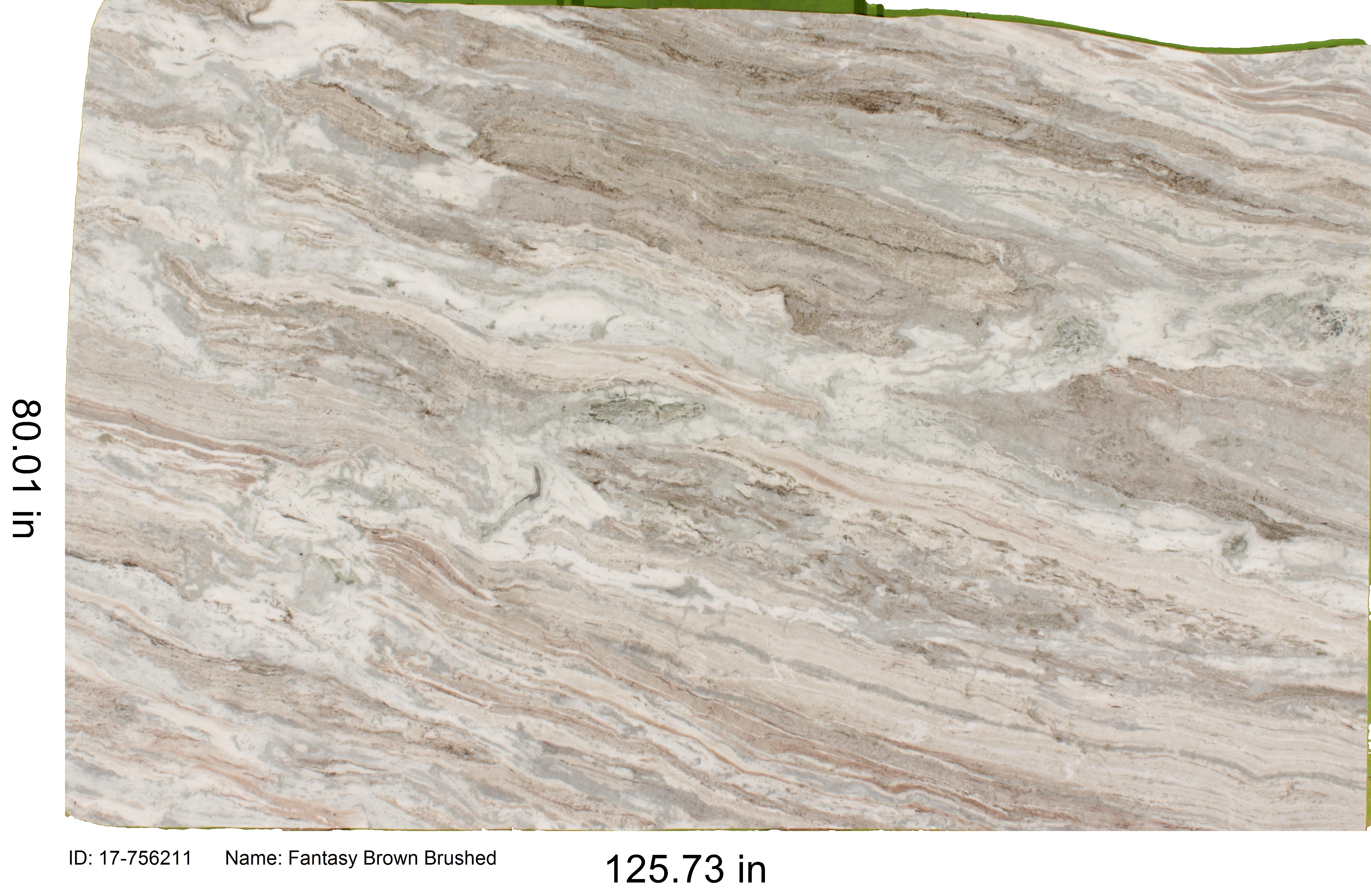 Brown Fantasy Marble Brushed C Amp D Granite